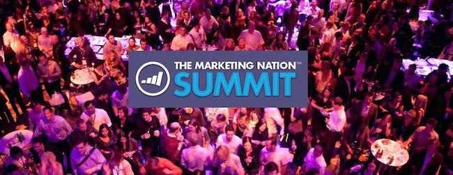Marketing Summit 2016 with Will Smith and Sanjay Dholakia